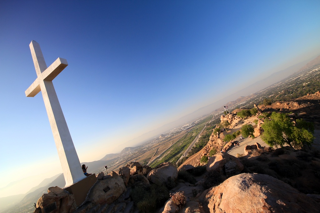 Mt Rubidoux Trail and Memorial Park in Riverside, CA