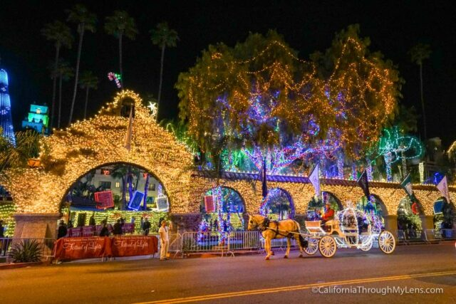 Mission Inn Festival of Lights in Riverside, CA - California Through ...