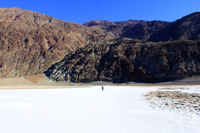 Amie in badwater