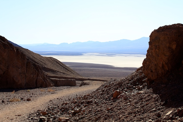 Natural Rock Bridge in Death Valley