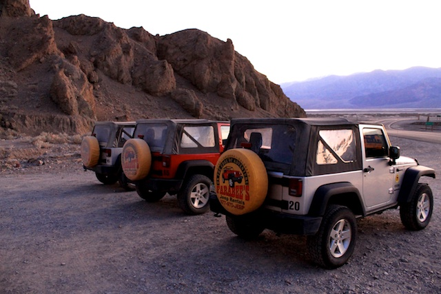 Offroading in Valley with Farabee's Jeep Rentals - California ...