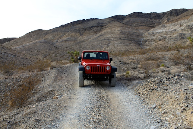Offroading in Death Valley with Farabee's Jeep Rentals