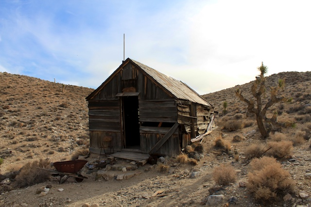 Lost Burro Mine in Death Valley