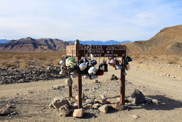 Teakettle Junction In Death Valley California Through My