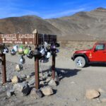 Teakettle juntion with offroad jeep