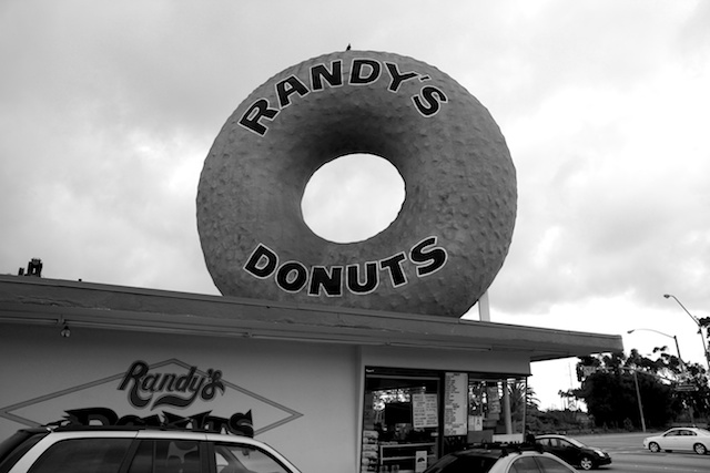Randy's Donuts in Los Angeles