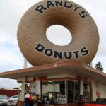 Randys donuts with walk up