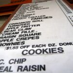 Up close randys donuts sign