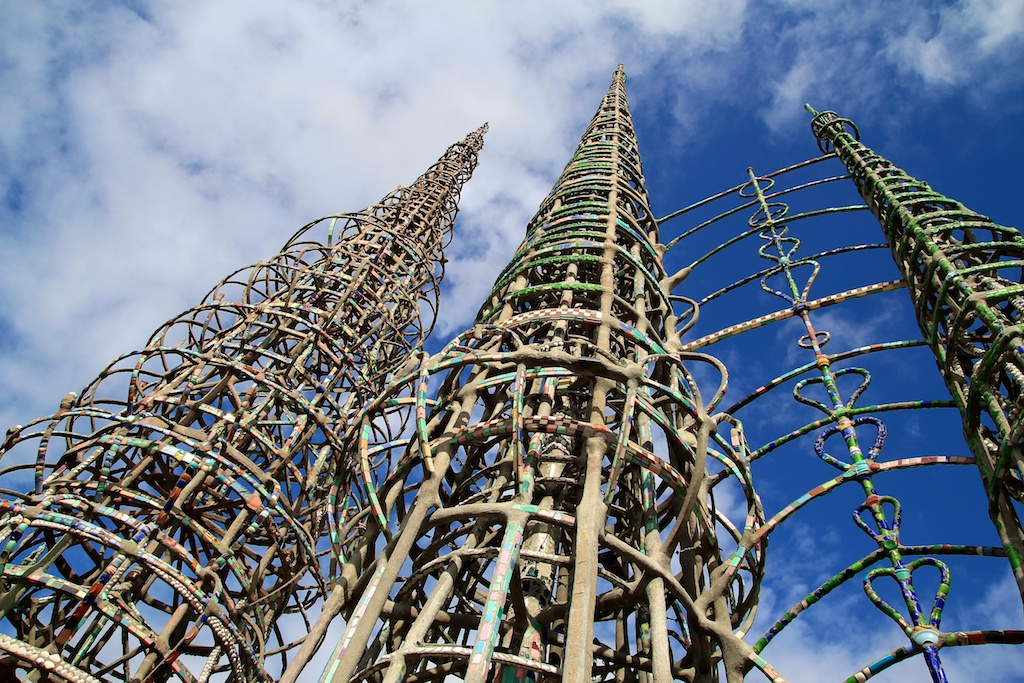 Watts Towers in Los Angeles: History, Tours and Pictures