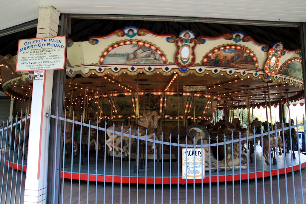 Merry Go Round Griffith Park
