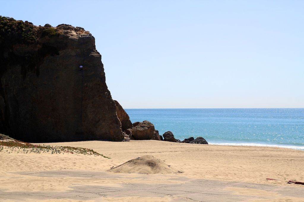 Point dume Rock
