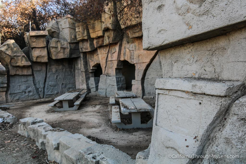 Old La Zoo In Griffith Park An Abandoned Zoo California Through