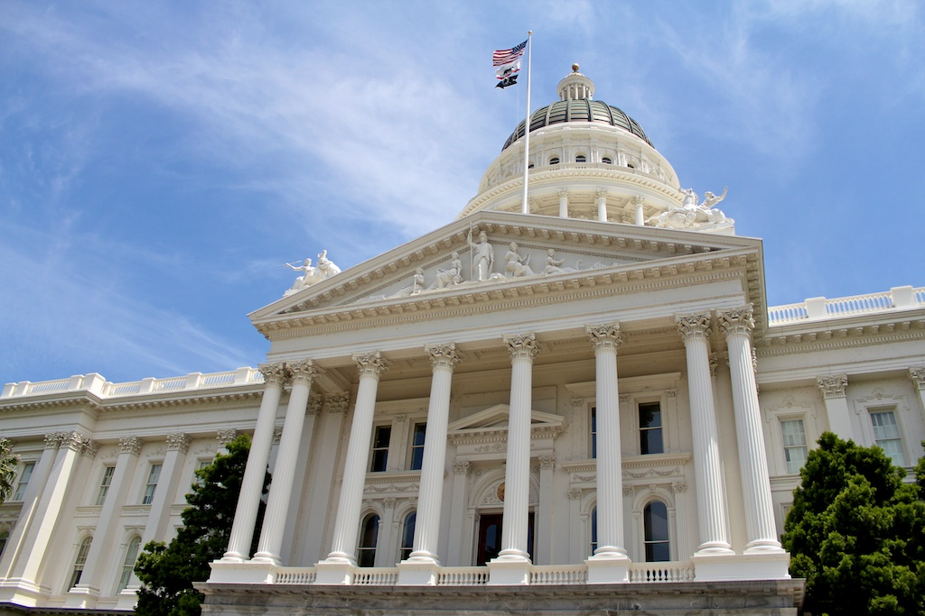 California's State Capitol in Sacramento