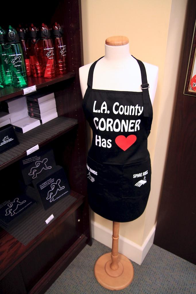LA Coroner's Gift Shop: Skeletons in the Closet   California ...