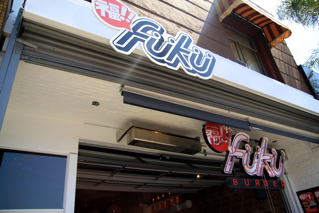 fuku burger sign