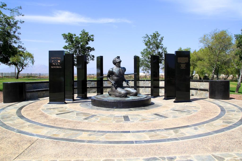 Prisoner of War / Missing in Action Memorial in Riverside, CA