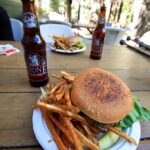 Burger and Beer at Whitney Portal
