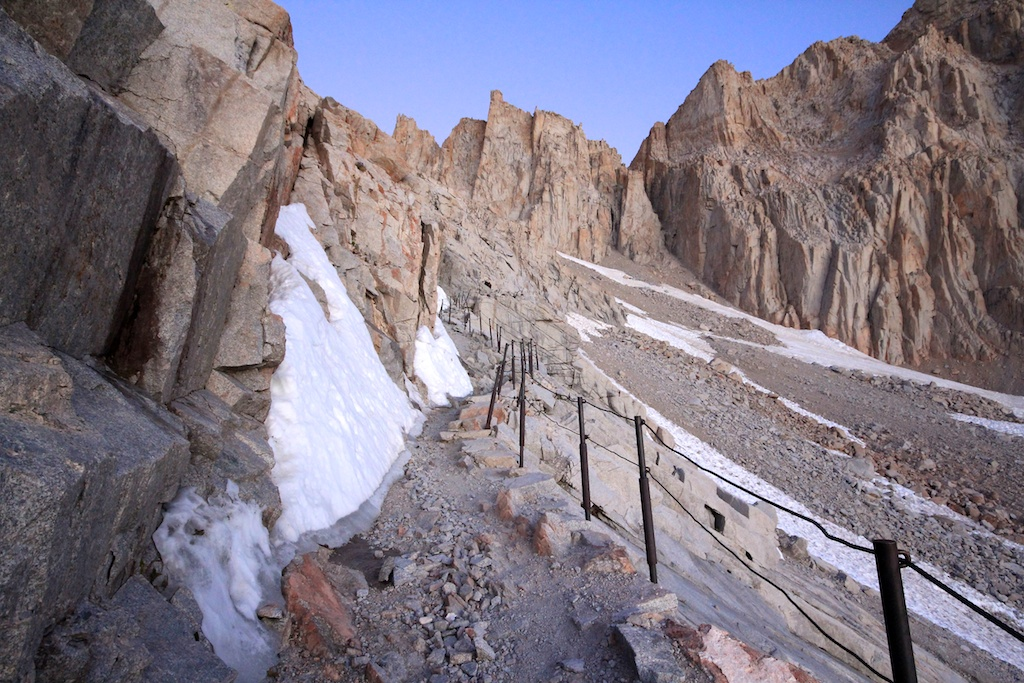 Cables on Mt Whitney