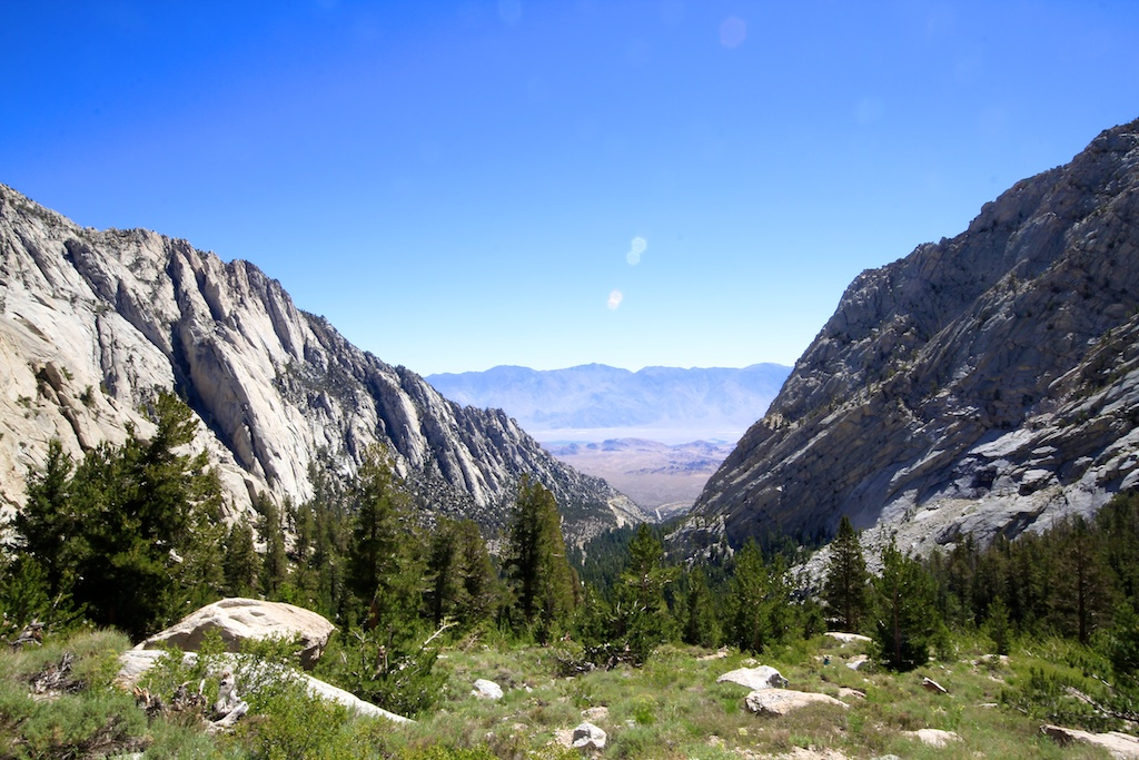 Hiking Mt Whitney 3