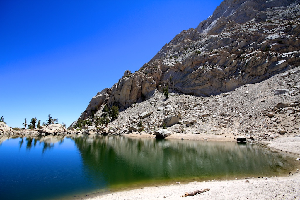 Lone Pine Lake Beach