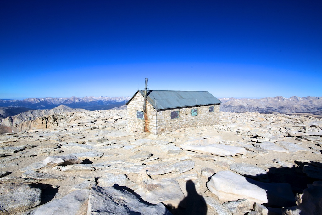 Summit House on Mt Whitney