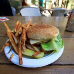Veggie Burger at Whitney Portal