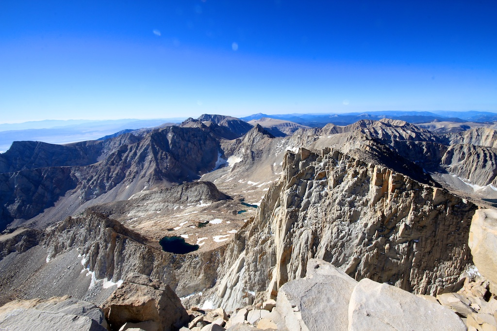 View from Mt Whitney Summit 2