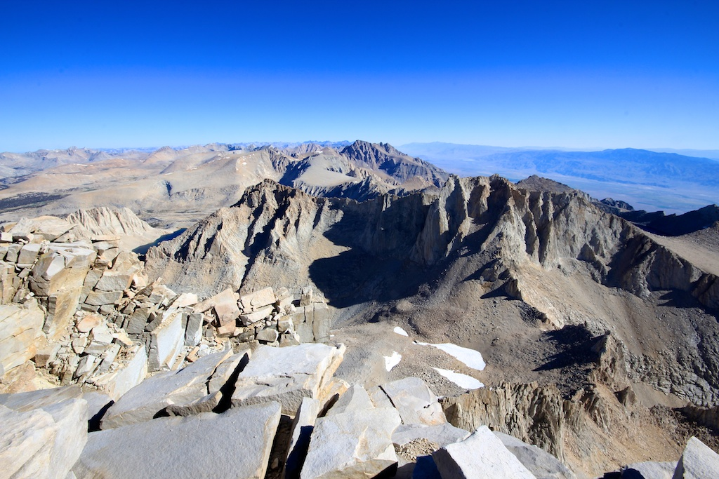 View from Mt Whitney Summit 3