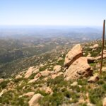 View from the Mt Woodson Summit