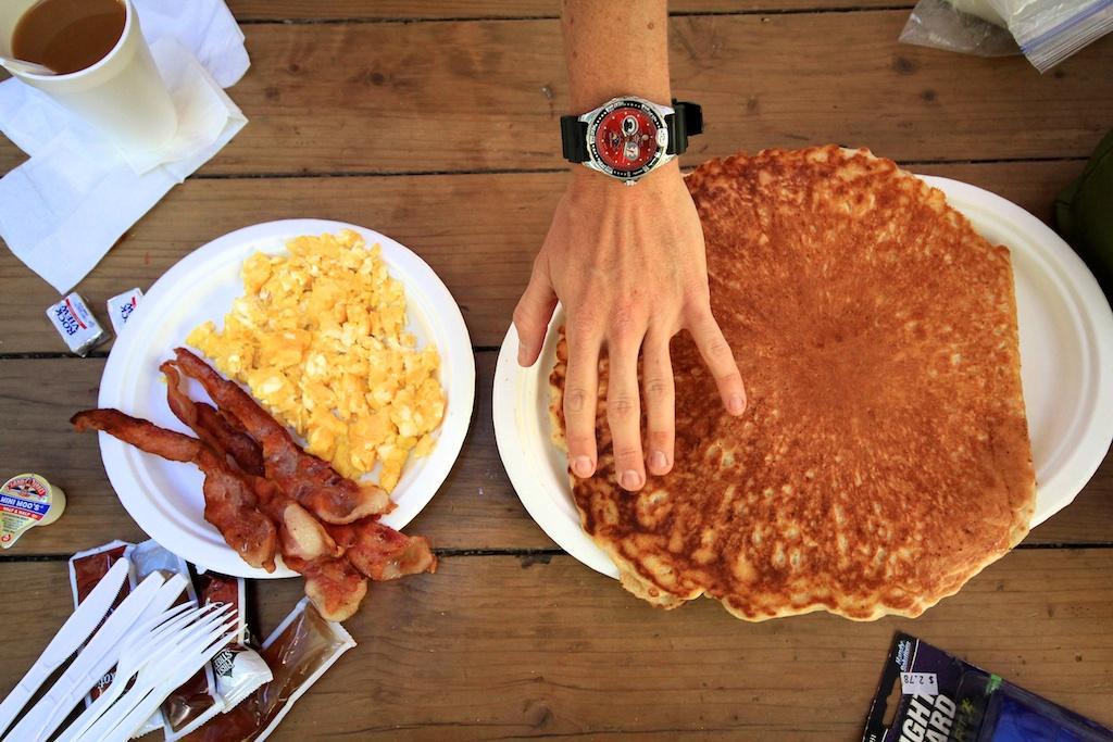 Whitney Portal Store Huge Pancakes
