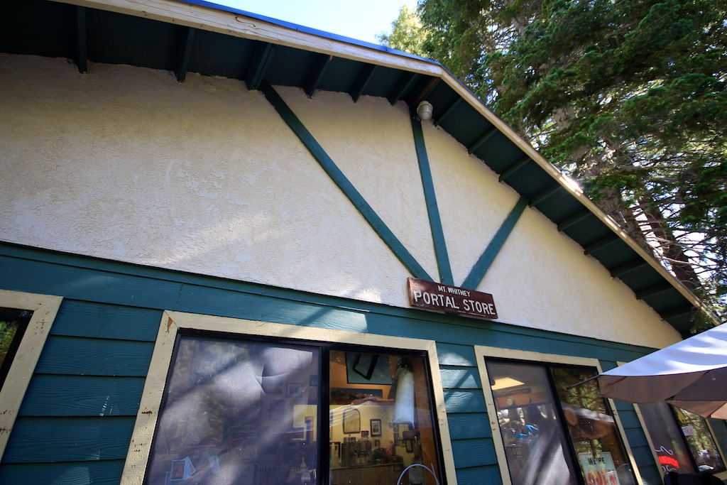 Whitney Portal Store Sign