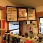 Whitney Portal Store menu