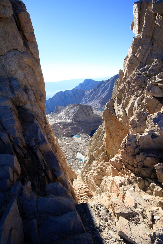 Windows on Mt Whitney