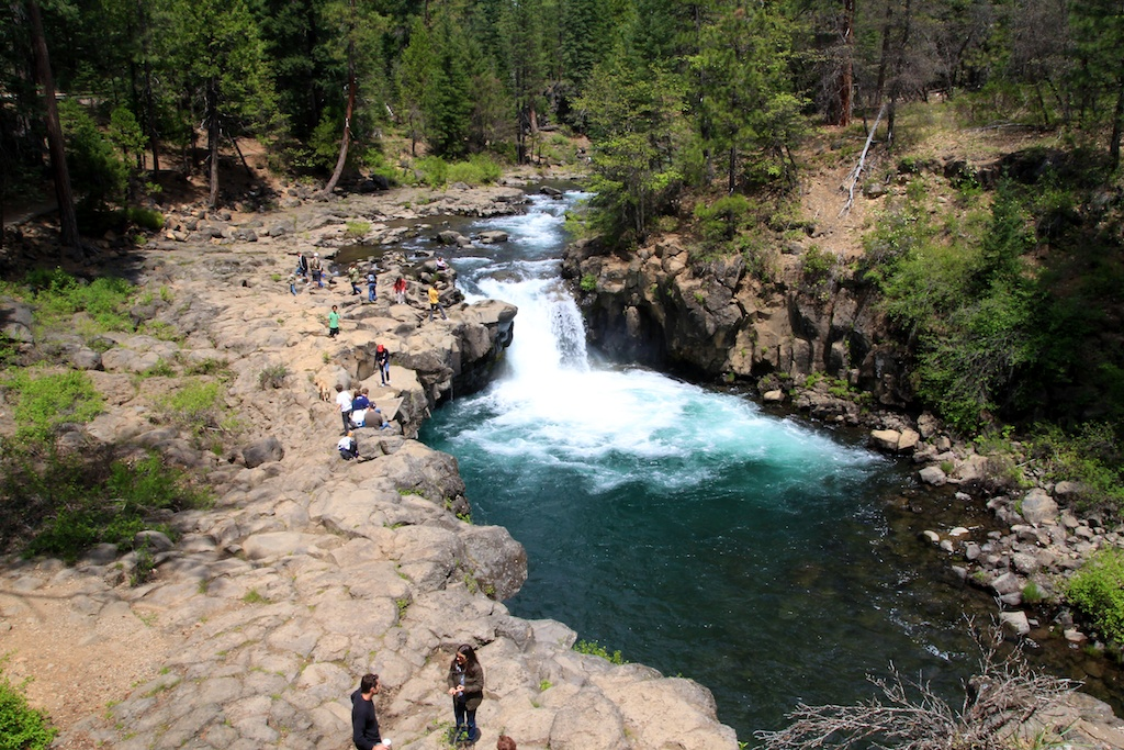 McCloud Falls Visiting All Three Tiers Of The Waterfall Off - California waterfalls map
