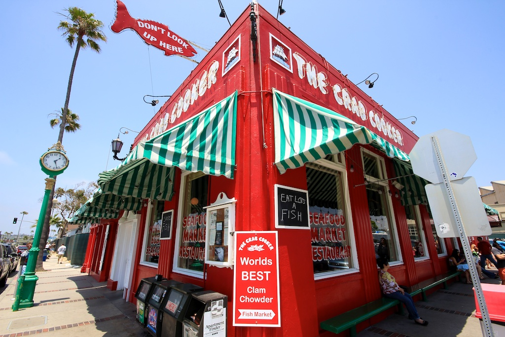 The Crab Cooker Seafood In Newport Beach California