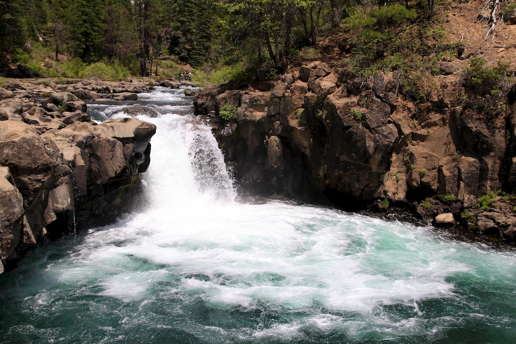 McCloud Falls: Visiting all Three Tiers of the Waterfall off Highway 89