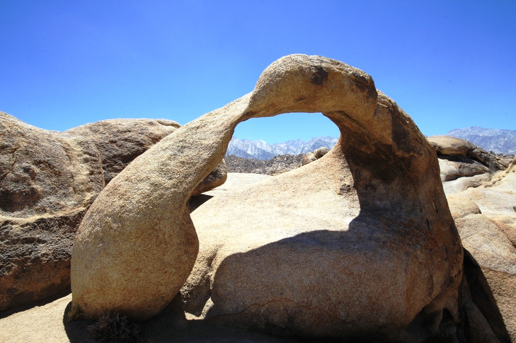 Mobius Arch in the Alabama Hills