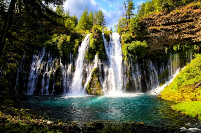 One Of My Personal Favorite Spots Burney Falls In Northern California Is Probably The Best Waterfall Entire State Sure There Are Ger Ones