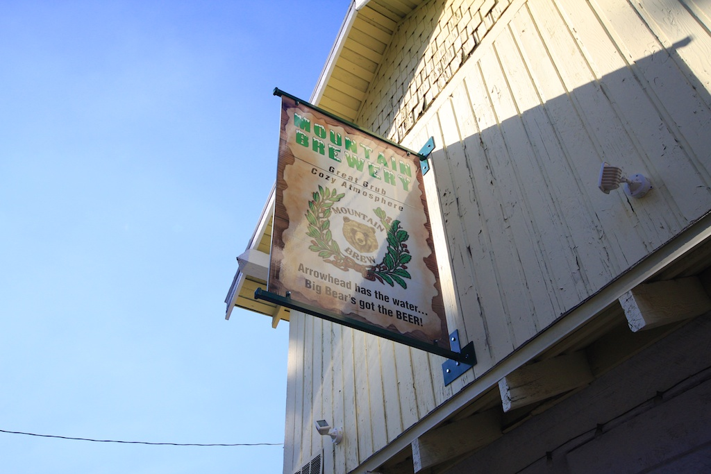 Big Bear Brewery Sign