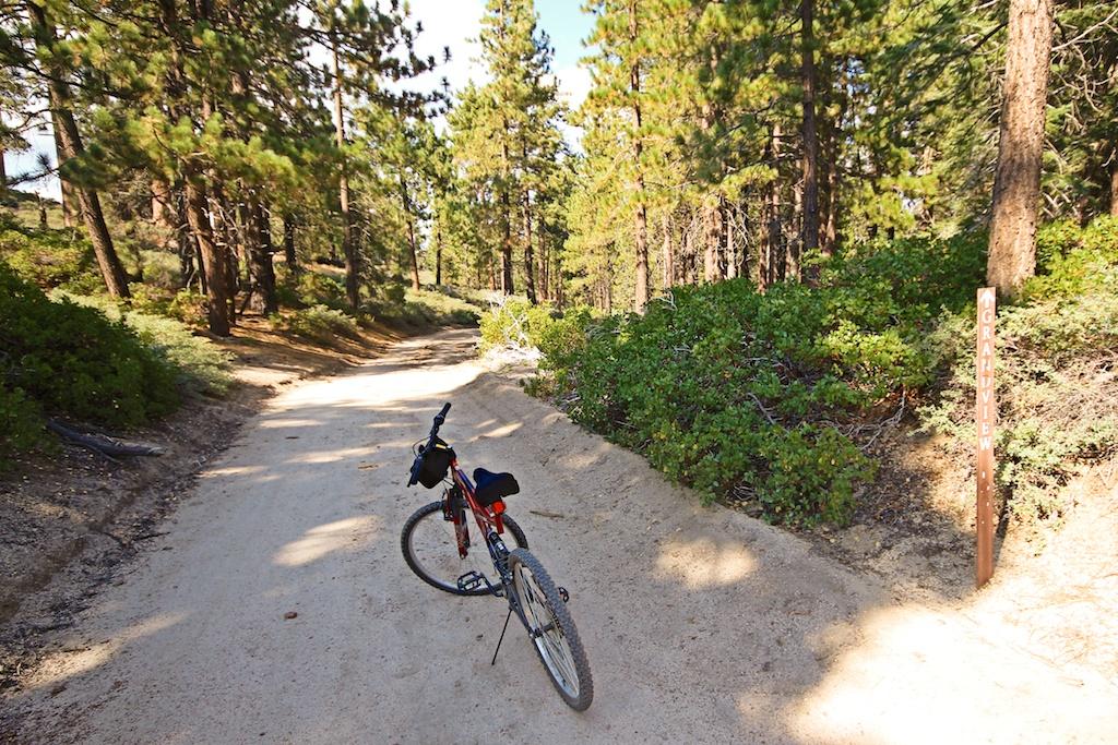 Mountain Biking At Big Bear Mountain Resorts California Through