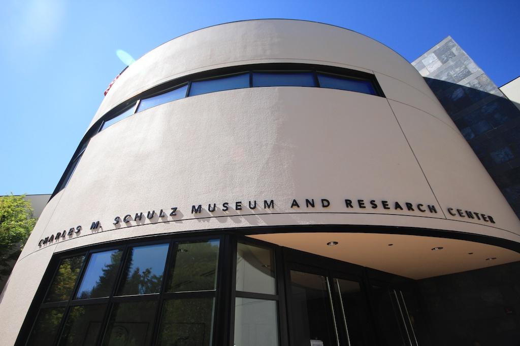 Charles M. Shultz Peanuts Museum in Santa Rosa