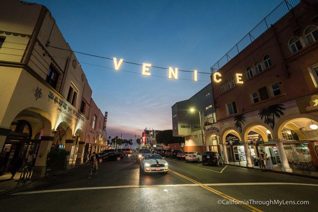 Venice Beach Boardwalk S Food