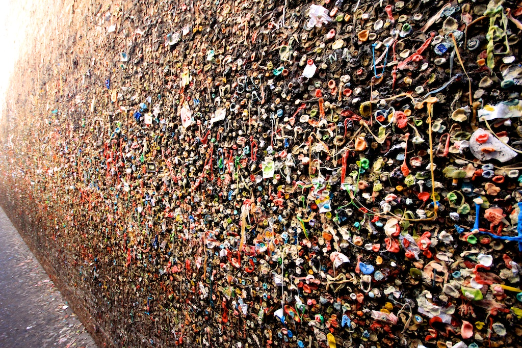 Bubblegum Alley: Gum Wall of San Luis Obispo