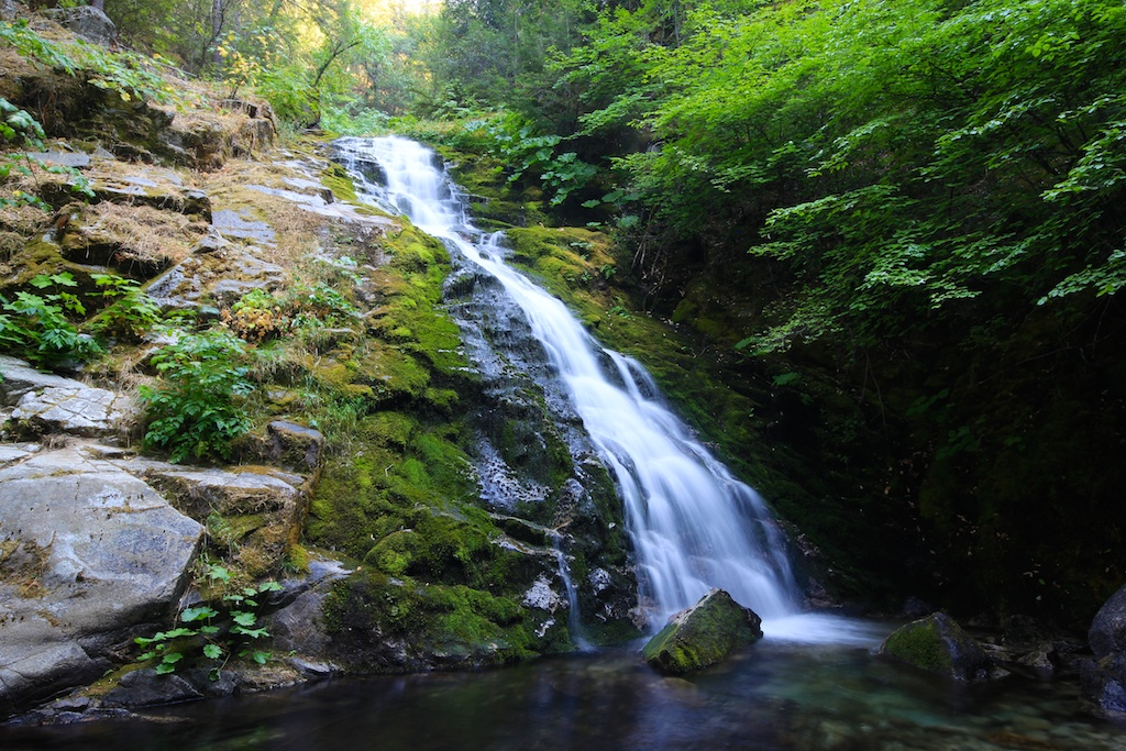 Whiskeytown Falls: A Hidden Waterfall