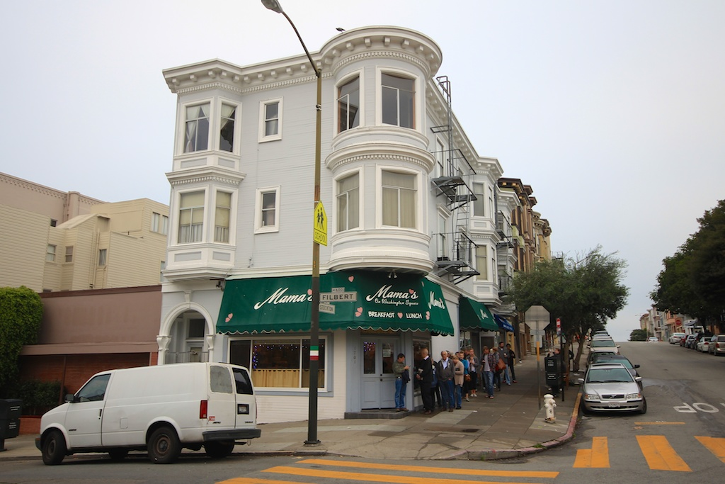 Mama's: Best Breakfast in San Francisco