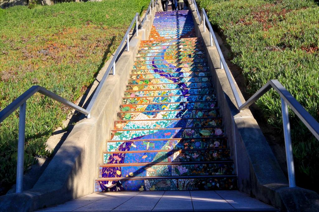 Mosiac Steps 16th St 5