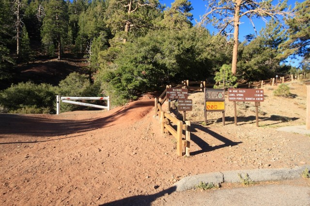 Big Horn Mine Trail Head