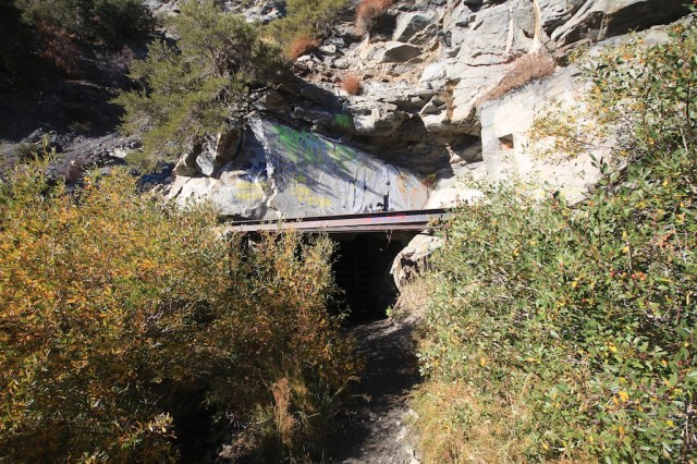Hiking in Wrightwood mine