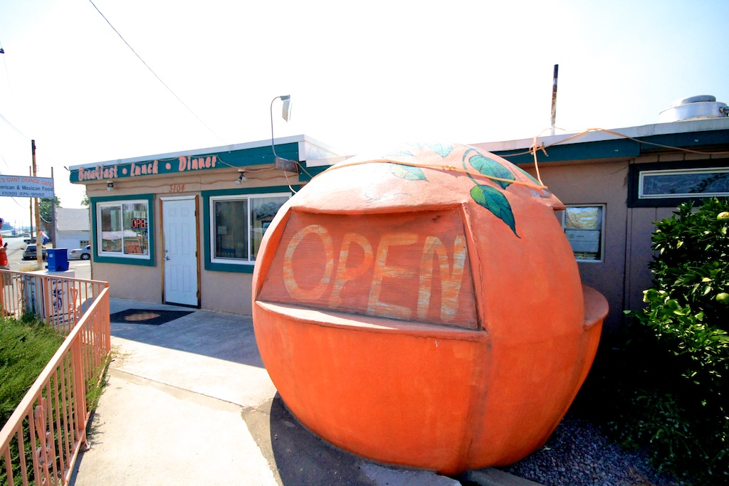 Joe's Giant Orange Cafe in Shasta City