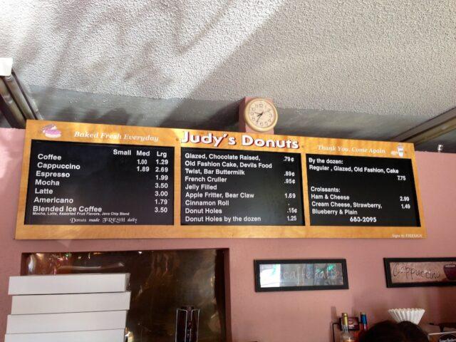 Judys Donuts Oakhurst 6